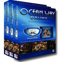 Ocean Way Drums SE Complete Vol. 1-3 Refill for Reason