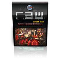 R.A.W. Artist Pak: Neil Peart Drums Vol. 3 Classic Grooves