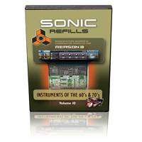 Sonic Refills Vol. 10: Instruments of the 60s & 70s